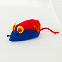 Supermouse - geeky cat toy or collectable
