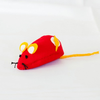 Flashmouse - geeky cat toy or collectable