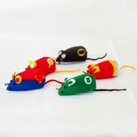 Hero Mouse Collection - geeky cat toys or collectables