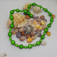 NL18 - Green miracle bead necklace