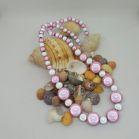 NL11 - Graduated miracle bead necklace