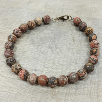 MBR01 Mans Beaded bracelet