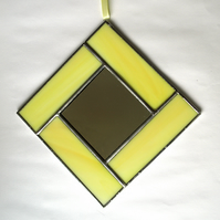 Stained glass Small Mirror