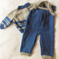 Baby's Trousers and Jumper Set, New Baby Gift, Baby Shower Gift