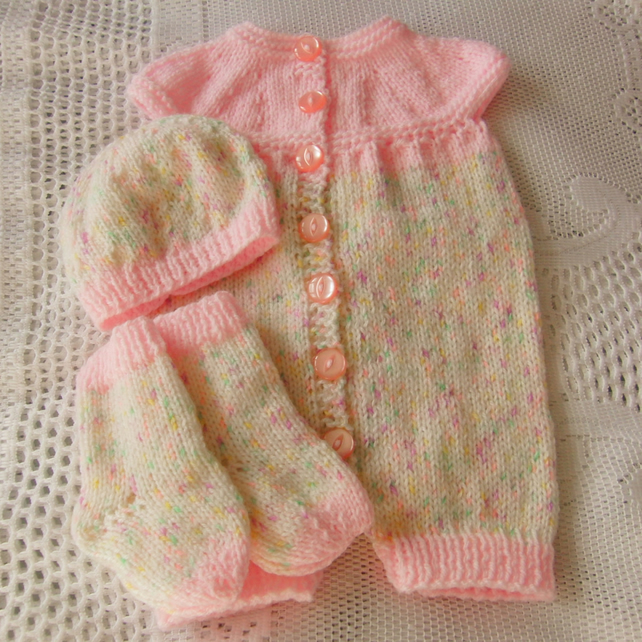 5268074f9 Sleeveless All in One Baby's Romper Suit With A... - Folksy