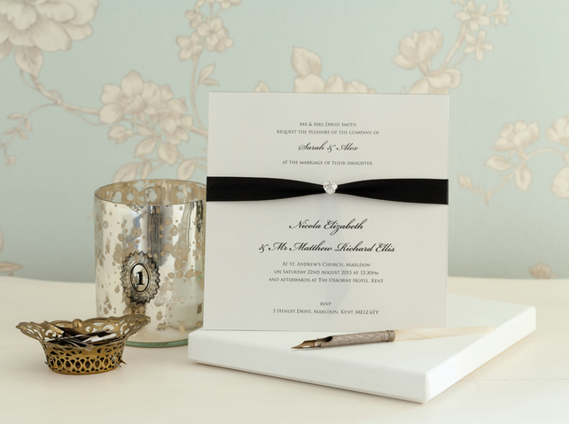 Clio Boxed Wedding Invitation