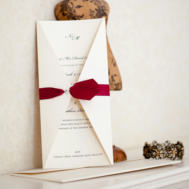 Leda Wedding Invitation