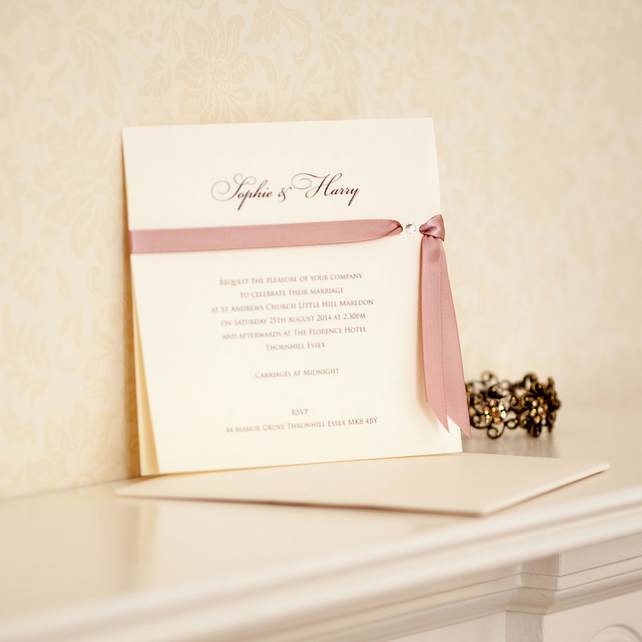 Tresana Wedding Invitation
