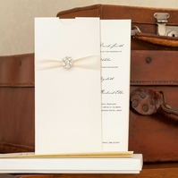 Thetis Boxed Wedding Invitation