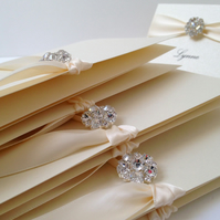 Maia Wedding Order of Day Cards