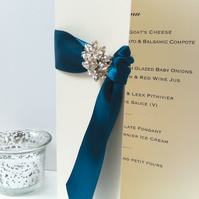 Jocasta Wedding Menu