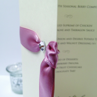 Tresana Wedding Menu