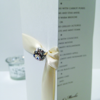 Clio Wedding Menu