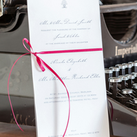 Roma Wedding Invitation