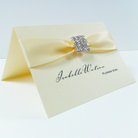Thea Crystal Wedding Place Card