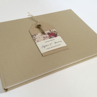 Rustic Key Wedding Guest Book