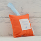 Medium Hanging Cushion - Tangerine - Personalised