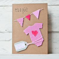 personalised - New baby card