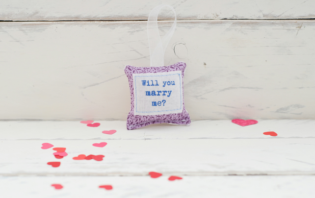 Will you marry me? - keepsake decoration