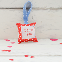 I Love You - Small decoration
