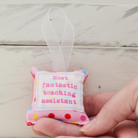 Thank you teaching assistant - small keepsake