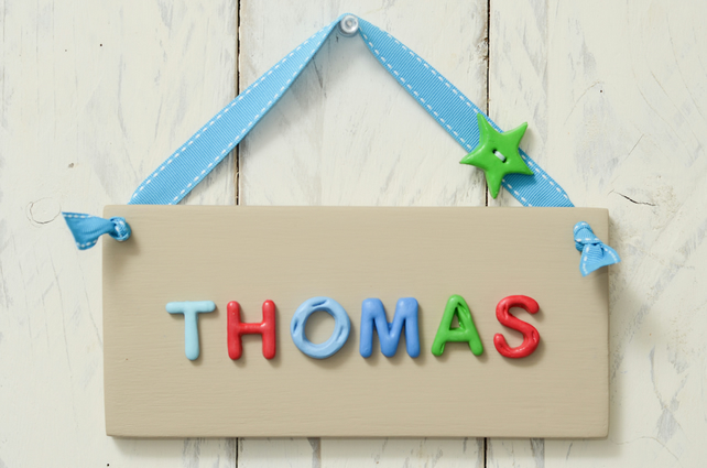 Children's Bedroom Door Plaque -  Colourful and Cool