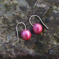Red Winter Berry Earrings