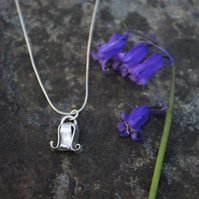 Silver Bluebell Necklace