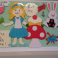 Delightful fun Alice in wonderland card