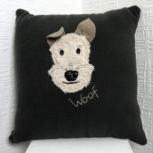 Fox Terrier cushion