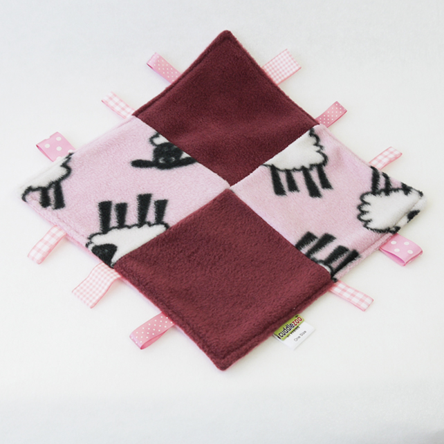Pink Sheep Comfort Blanket