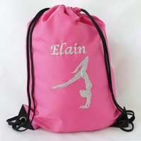 Personalised Girls Gymnastics Bag