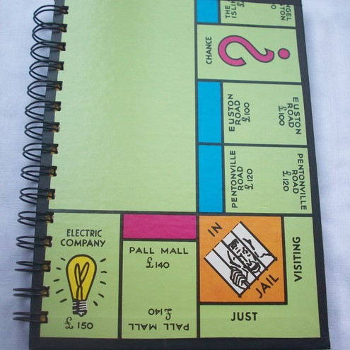 Your Choice Board Game Notebook (A5)