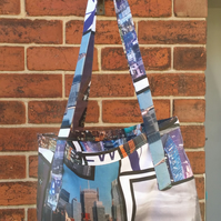 New York skyline bag