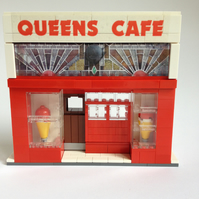 Queens Cafe Glasgow in Lego