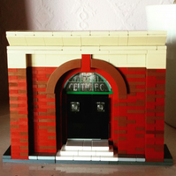 Celtic Park Doorway in Lego