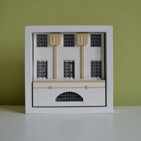 Charles Rennie Mackintosh's House for an Art Lover in Lego