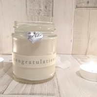 Bride (congratulations) Scented Candle