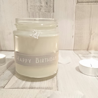 21 Happy Birthday Scented Candle