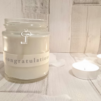 Congratulations Key Scented Candle