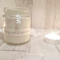Wedding Engagement Scented Candle
