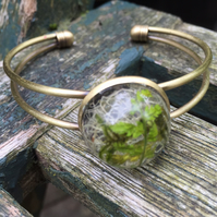 Botanical Jewellery - lichen, moss and Fern leaves