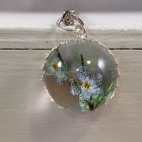 Forget Me Not - Botanical jewellery