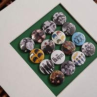 The Beatles Badge Collection (Unframed)