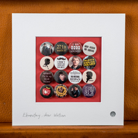 Sherlock Badge Collection (Unframed)