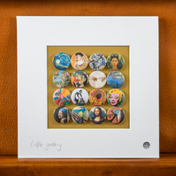 Little Gallery Badge Collection (Unframed)