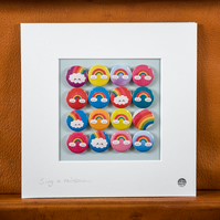 Rainbows Badge Collection (Unframed)