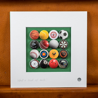 Sports Badge Collection (Unframed)