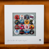 Musicals Badge Collection (Unframed)