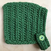 Pixie Hat - Baby size (up to 9 months) - Highland Green